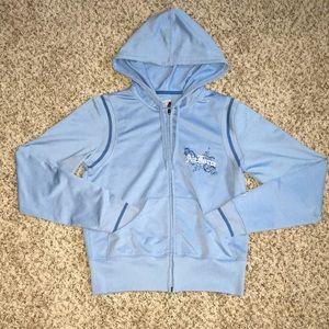 Air Force Soffe Medium Zip Up Hoodie